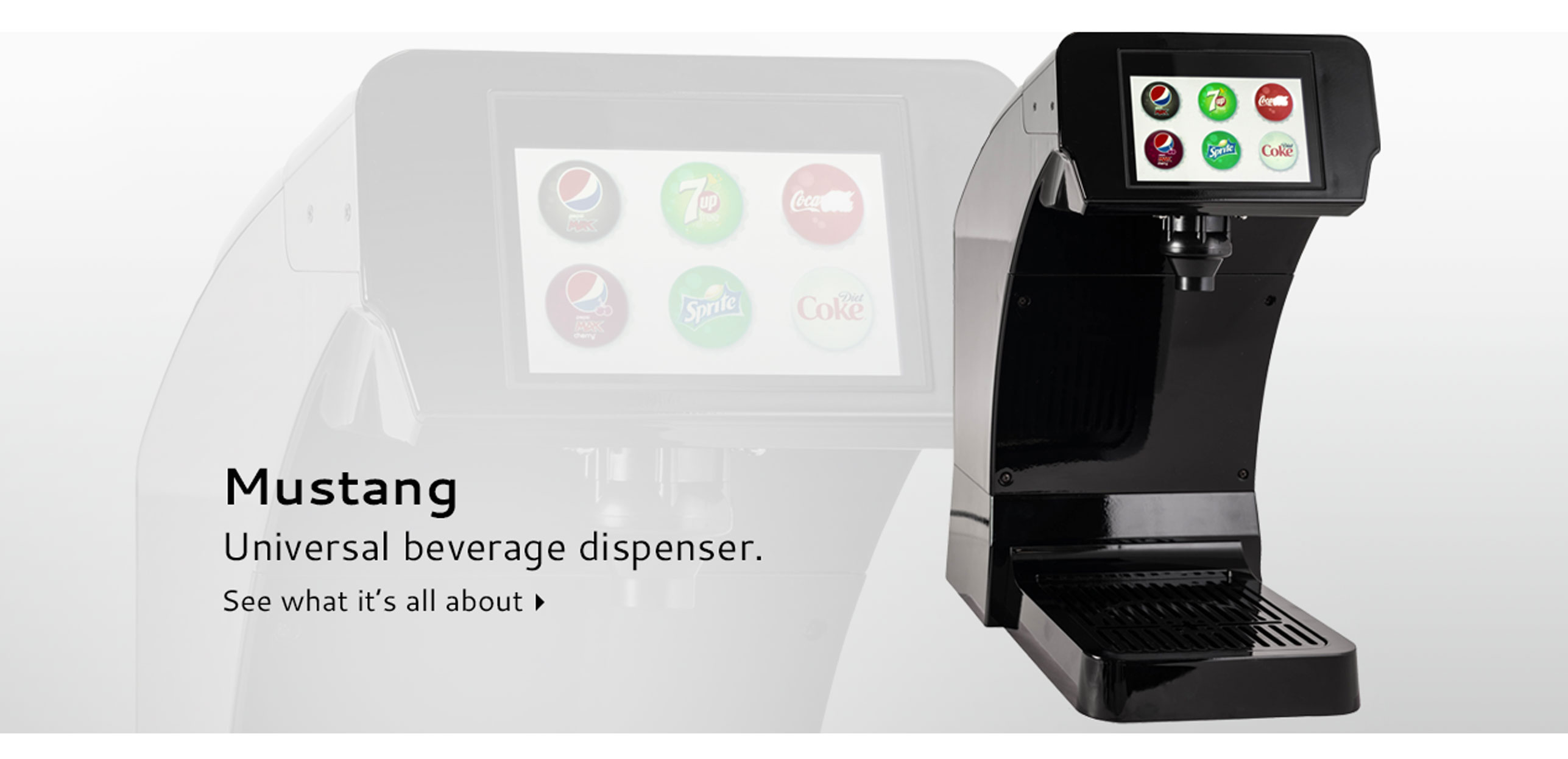Mustang Universal beverage  dispenser
